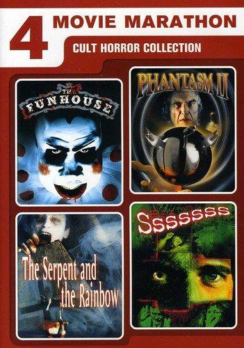 4 Movie Marathon: Cult Horror Collection
