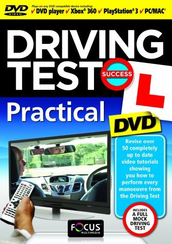Driving-Test-Success-Practical-DVD-CD-MSVG-FREE-Shipping