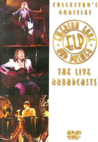 Emerson, Lake & Palmer : Collector's Rarities - The Live Broadcasts (DVD)