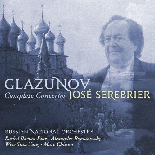 Glazunov Complete Concertos