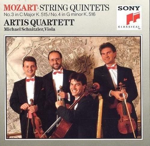 artis quartett - mozart string quintets- 3 cmajorK.515/4gminorK516