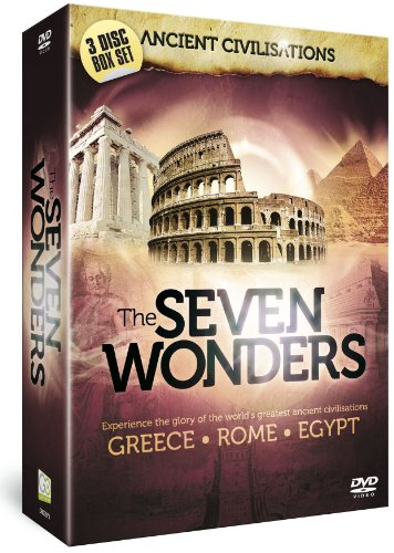 Ancient-Civilisations-The-Seven-Wonders-DVD-CD-CAVG-FREE-Shipping