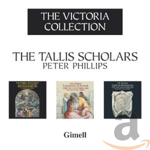 Tallis Scholars - Victoria: Victoria Collection (Requiem/ Lamentations/ Tenebrae Responsories) By Tallis Scholars