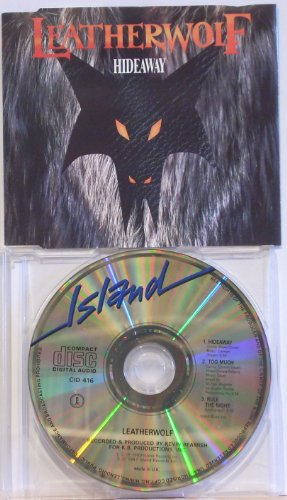 Leatherwolf - LEATHERWOLF. HIDEAWAY. 1989 3 TRACK CD SINGLE. CID 416 By Leatherwolf