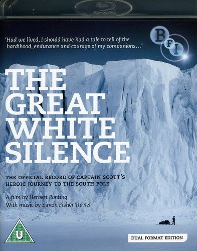 The Great White Silence / 90 Degrees South (DVD + Blu-ray)