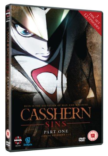 Casshern-Sins-Vol-1-DVD-CD-E6VG-FREE-Shipping