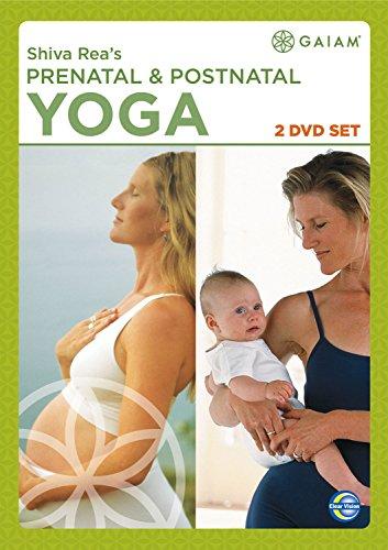 Gaiam-Prenatal-amp-Postnatal-Yoga-Double-Pack-DVD-CD-74VG-FREE-Shipping