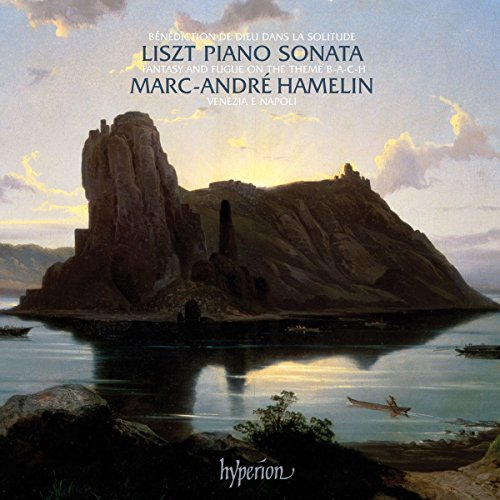 Marc-Andre Hamelin - Liszt: Piano Sonata, Fantasy & Fugue on the theme B-A-C-H By Marc-Andre Hamelin