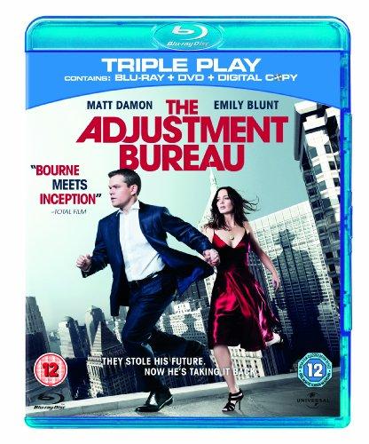 The Adjustment Bureau - Triple Play (Blu-ray + DVD + Digital Copy)