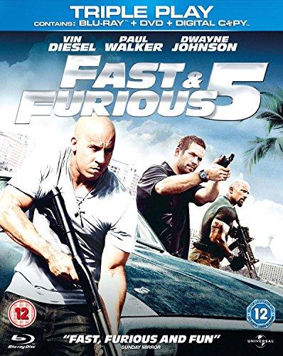 Fast-amp-Furious-5-Blu-ray-DVD-Region-Free-CD-TSVG-FREE-Shipping