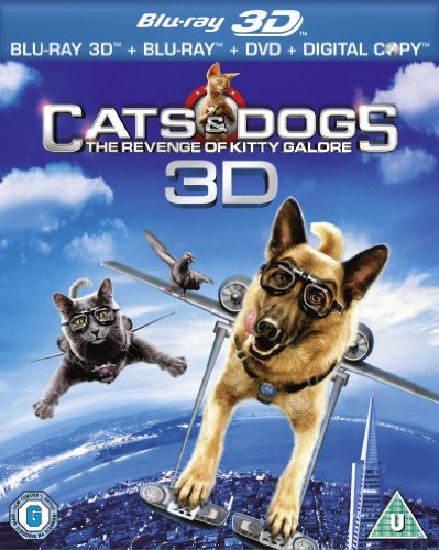 Cats and Dogs 2 (Blu-ray 3D)