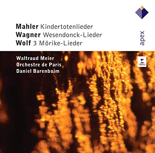 Waltraud Meler - Mahler: Kindertotenlieder, Wagner: Wesendonck-Lieder, Wolf: 3 Lieder By Waltraud Meler