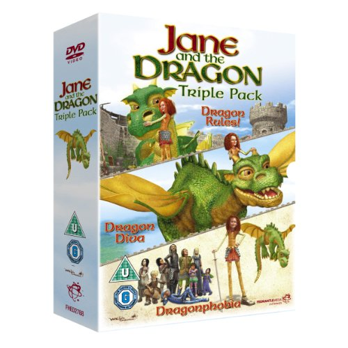 Jane-and-the-Dragon-Triple-Pack-DVD-CD-PQVG-FREE-Shipping