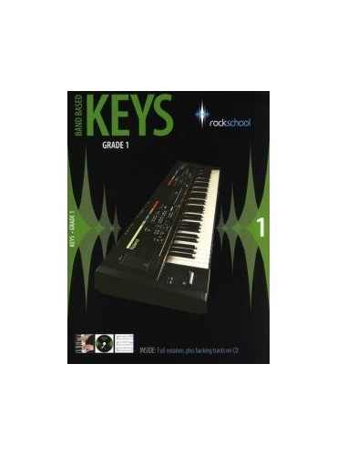 Rockschool Band Based Keys Grade 1 By Edited by Jeremy Ward