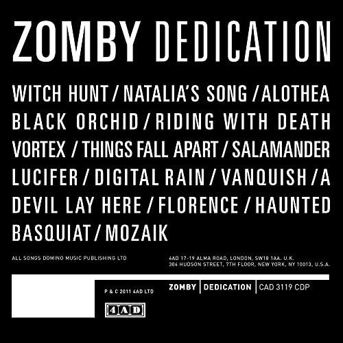 Zomby - Dedication By Zomby
