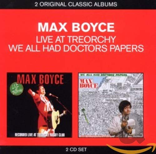 Max Boyce - Live At Treorchy / We All Had Doctors Papers By Max Boyce