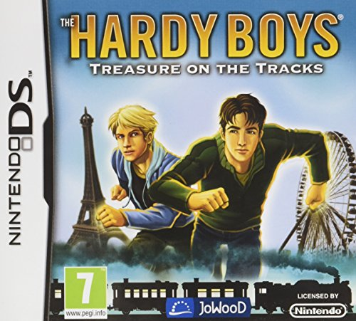 Hardy Boys Treasure on the Tracks Game DS