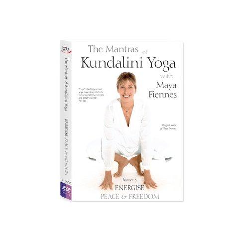 Maya Fiennes - The Mantras Of Kundalini Yoga - ENERGISE, PEACE & FREEDOM