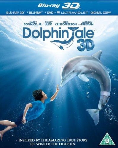 Dolphin Tale (Blu-ray 3D + Blu-ray + DVD + UV Copy)