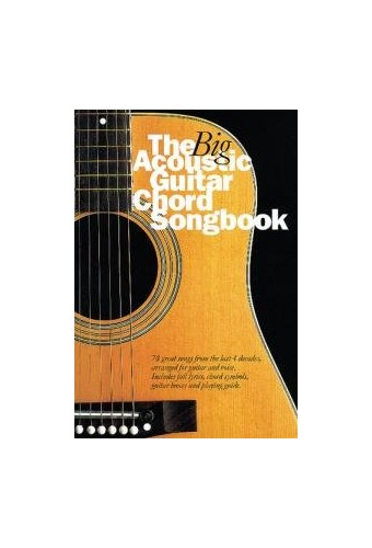 Big Acoustic Guitar Chord Songbook By Nick Crispin