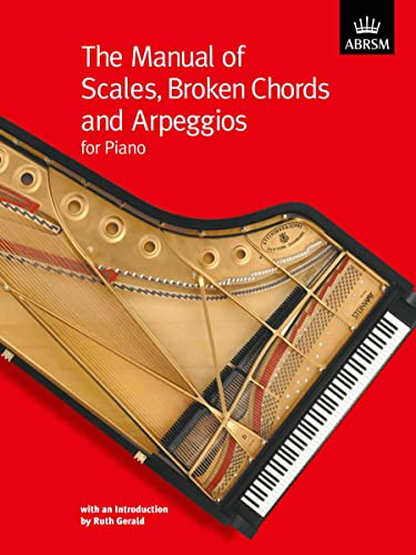 The Manual Of Scales, Broken Chords and Arpeggios For Piano Edited by Ruth Gerald