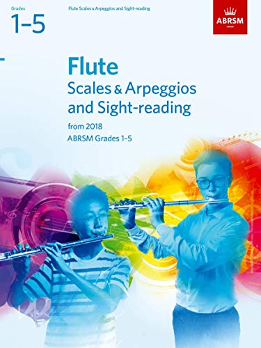ABRSM Specimen Sight-Reading Tests For Flute Grades 1-5 By ABRSM