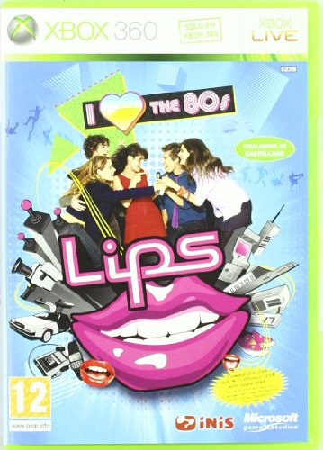 Lips I love the 80's Import Castellano