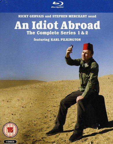An Idiot Abroad Box Set - Series 1 and 2