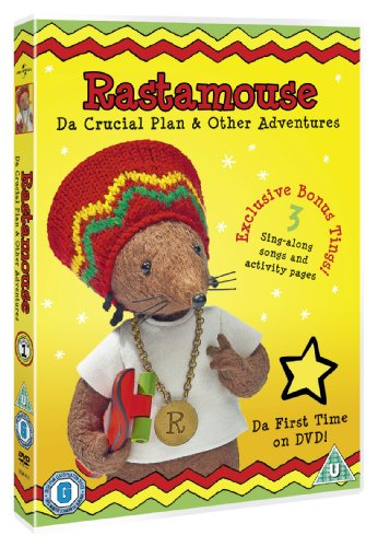Rastamouse-Da-Crucial-Plan-amp-Other-Adventures-DVD-CD-BMVG-FREE-Shipping