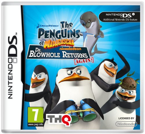 Penguins of Madagascar - Dr. Blowhole Returns Again (Nintendo DS)