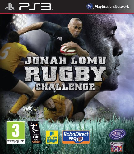 Ps3 - Jonah Lomu Rugby Challenge (PS3)