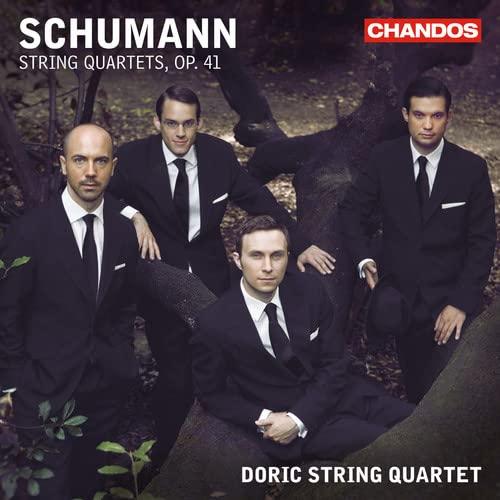 Schumann: String Quartets Nos. 1, 2 & 3 By Doric String Quartet