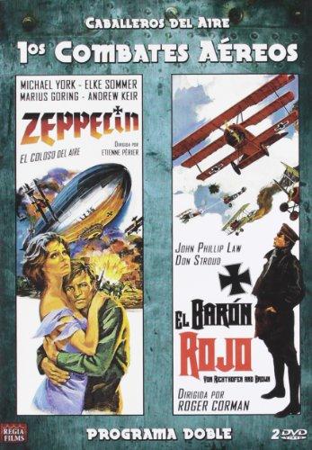 Zeppelin (1971) / Von Richthofen And Brown (aka The Red Baron, 1971) - Region Free PAL Double-DVD