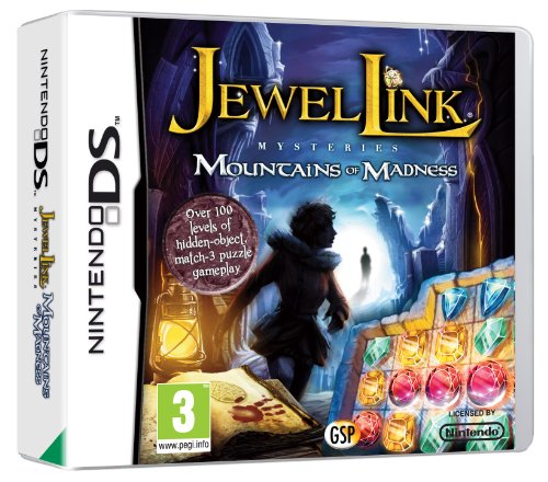 Jewel Link Mysteries: Mountains of Madness (Nintendo DS)