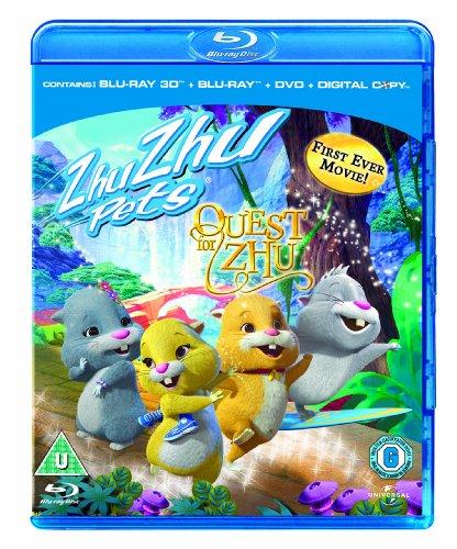 Zhu Zhu Pets: Quest For Zhu  (Blu-ray 3D + Blu-ray + DVD + Digital Copy)