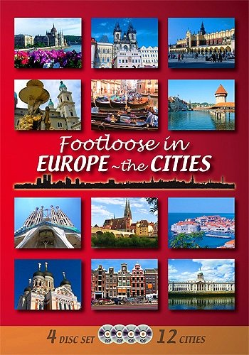 FOOTLOOSE IN EUROPE - THE 12 CITIES (4-disc set)