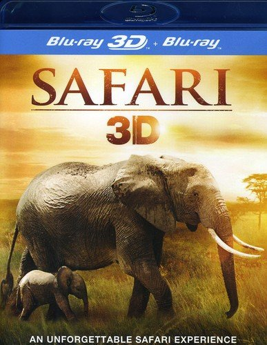 Safari 3D (Blu-ray 3D + Blu-Ray)