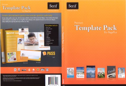 Premium Template Pack for PagePlus X4 or above