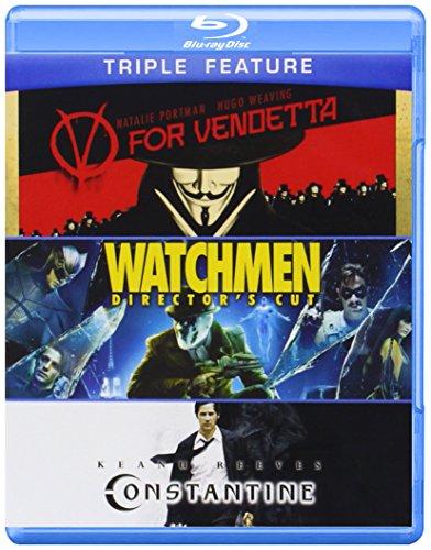 V for Vendetta & Watchmen & Constantine