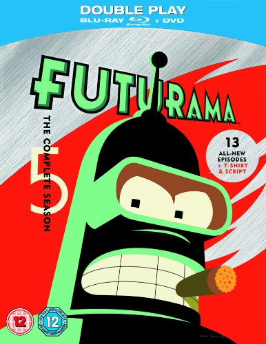 Futurama - Season 5 Limited Edition with T-Shirt and Script (Blu-ray + DVD)