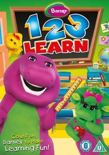 Barney-1-2-3-Learn-DVD-CD-0SVG-FREE-Shipping