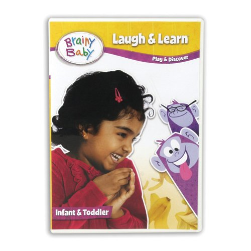 Brainy Baby Laugh and Learn DVD