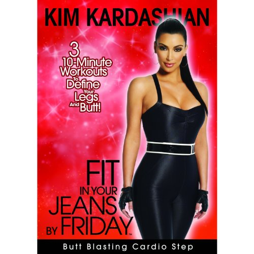 KIM KARDASHIAN Fit in Your Jeans by Friday 3 10-Minute Step Workouts to Define Your Legs and Butt! [