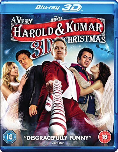 A Very Harold & Kumar 3D Christmas (Blu-ray 3D + Blu-ray + UV Copy)