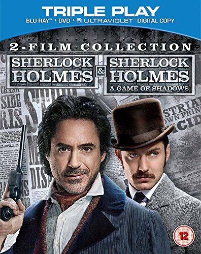 Sherlock Holmes and Sherlock Holmes: A Game of Shadows  - 2 Film Collection   [Region