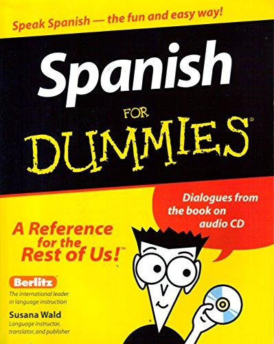 Spanish For Dummies By Jean Antonin Billard