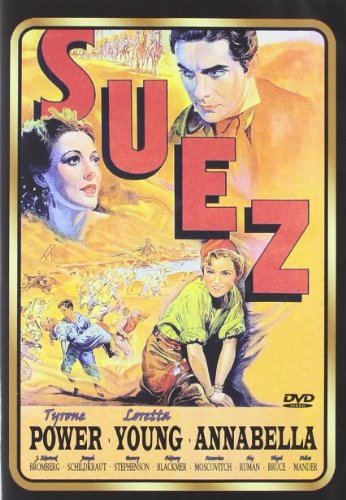 Suez (1938) - Region 2 PAL, plays in English without subtitles