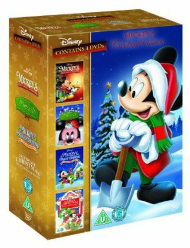 Mickey's Christmas Collection (Once Upon, Twice Upon, Magical Christmas, Celebrate Christmas)