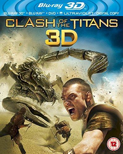 Clash of the Titans (Blu-ray 3D + Blu-ray + DVD + UV Copy)