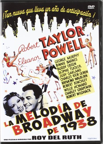 Broadway Melody Of 1938 DVD Region 2 Robert Taylor, Eleanor Powell (import)